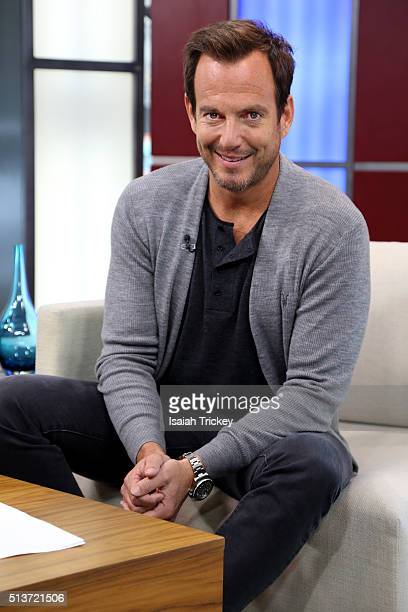Actor Will Arnett Appears On The Morning Show at The Morning Show Studios on March 4 2016 in Toronto Canada