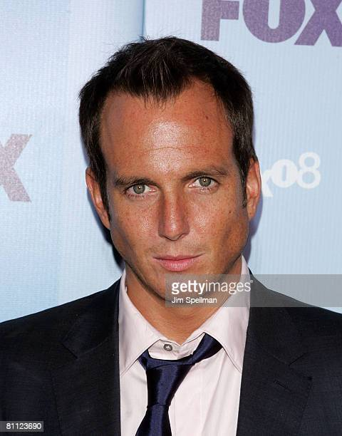 Actor Will Arnett arrives at the 2008 FOX UpFront at Wollman Rink Central Park on May 15 2008 in New York City