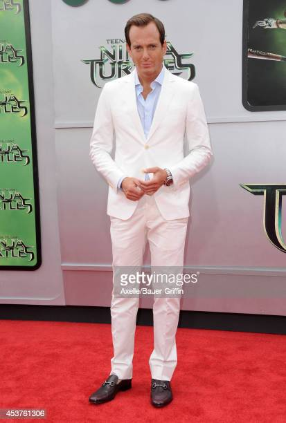 Actor Will Arnett arrives at the Los Angeles Premiere of 'Teenage Mutant Ninja Turtles' at Regency Village Theatre on August 3, 2014 in Westwood,...