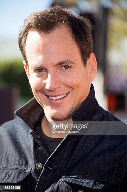 Actor Will Arnett arrives at the Los Angeles premiere of 'The Lego Movie' at the Regency Village Theatre on February 1 2014 in Westwood California