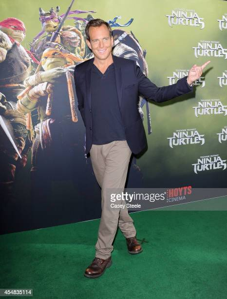 Actor Will Arnett arrives at the Sydney Premiere of 'Teenage Mutant Ninja Turtles' at The Entertainment Quarter on September 7 2014 in Sydney...