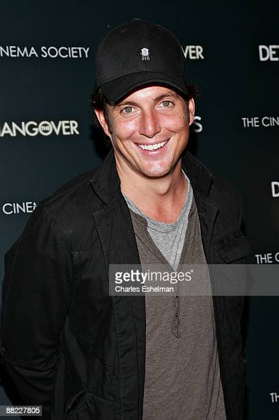 Actor Will Arnett attends a screening of The Hangover hosted by the Cinema Society and Details at the Tribeca Grand Screening Room on June 4 2009 in...