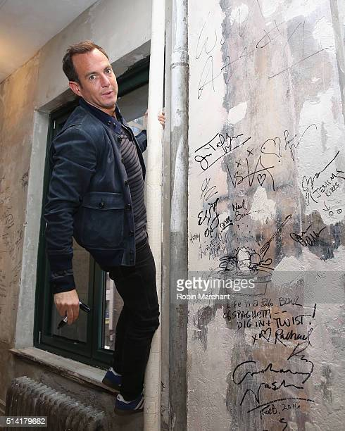 Actor Will Arnett attends AOL Build Speakers Series Flaked at AOL Studios In New York on March 7 2016 in New York City