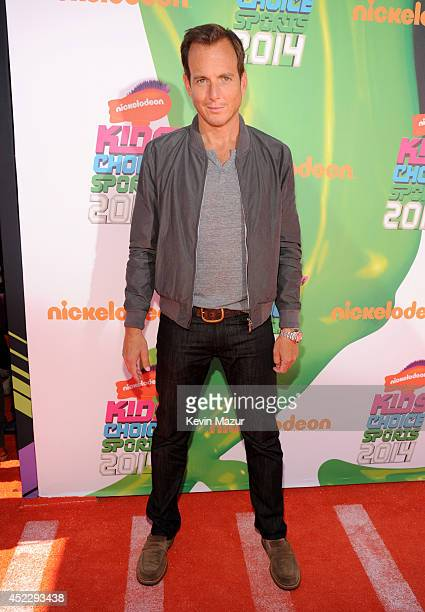 Actor Will Arnett attends Nickelodeon Kids' Choice Sports Awards 2014 at UCLA's Pauley Pavilion on July 17 2014 in Los Angeles California