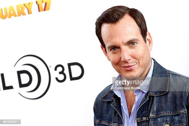 Actor Will Arnett attends the premiere of Open Road Films' The Nut Job held at the Regal Cinemas LA Live on January 11 2014 in Los Angeles California