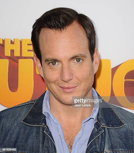 Actor Will Arnett attends the premiere of 'The Nut Job' at Regal Cinemas LA Live on January 11 2014 in Los Angeles California