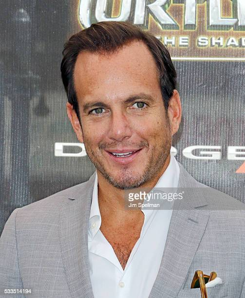Actor Will Arnett attends the 'Teenage Mutant Ninja Turtles Out Of The Shadows' world premiere at Madison Square Garden on May 22 2016 in New York...