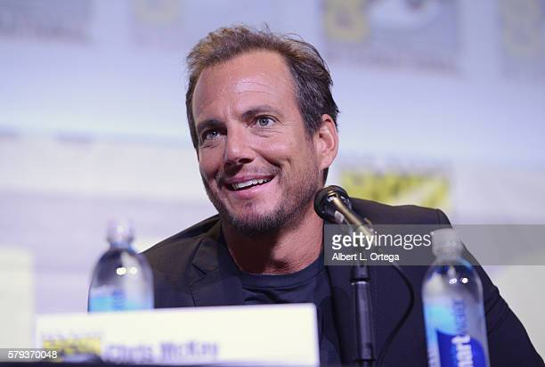 Actor Will Arnett attends the Warner Bros Presentation during ComicCon International 2016 at San Diego Convention Center on July 23 2016 in San Diego...