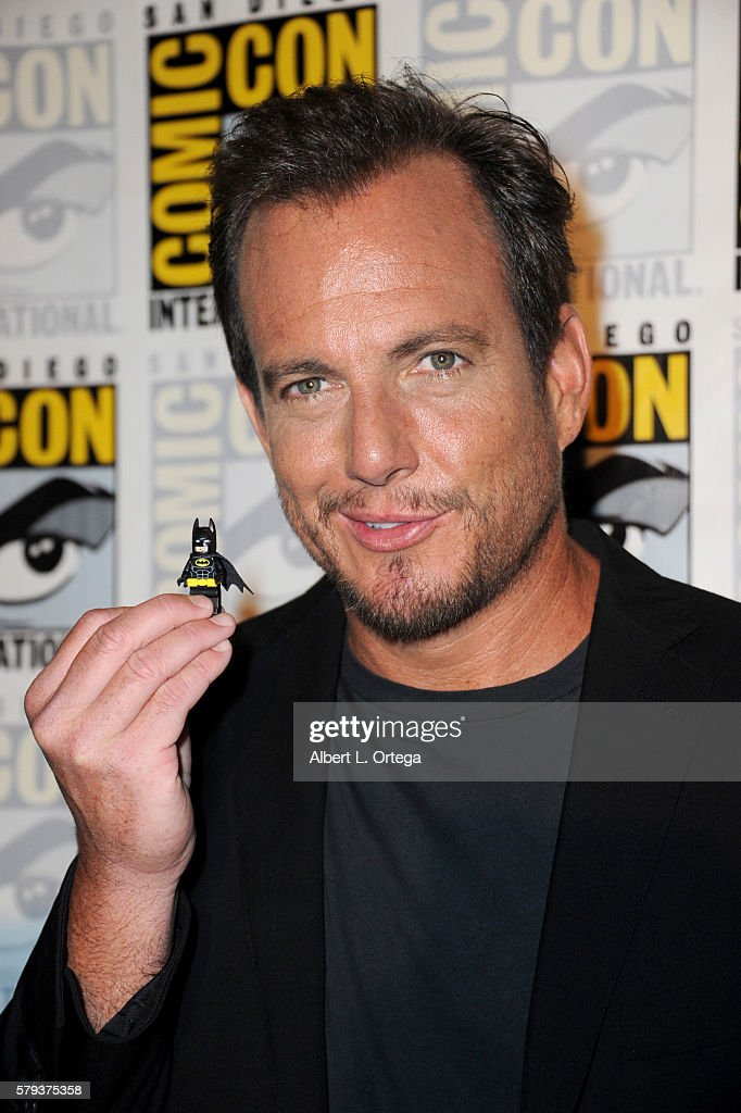 Actor Will Arnett attends the Warner Bros. Presentation during Comic-Con International 2016 at San Diego Convention Center on July 23, 2016 in San Diego, California.