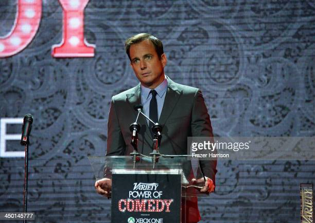 Actor Will Arnett onstage during Variety's 4th Annual Power of Comedy presented by Xbox One benefiting the Noreen Fraser Foundation at Avalon on...