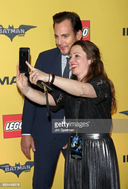 Actor Will Arnett posing for a photo attends 'The Lego Batman Movie' New York screening at AMC Loews Lincoln Square 13 on February 9 2017 in New York...