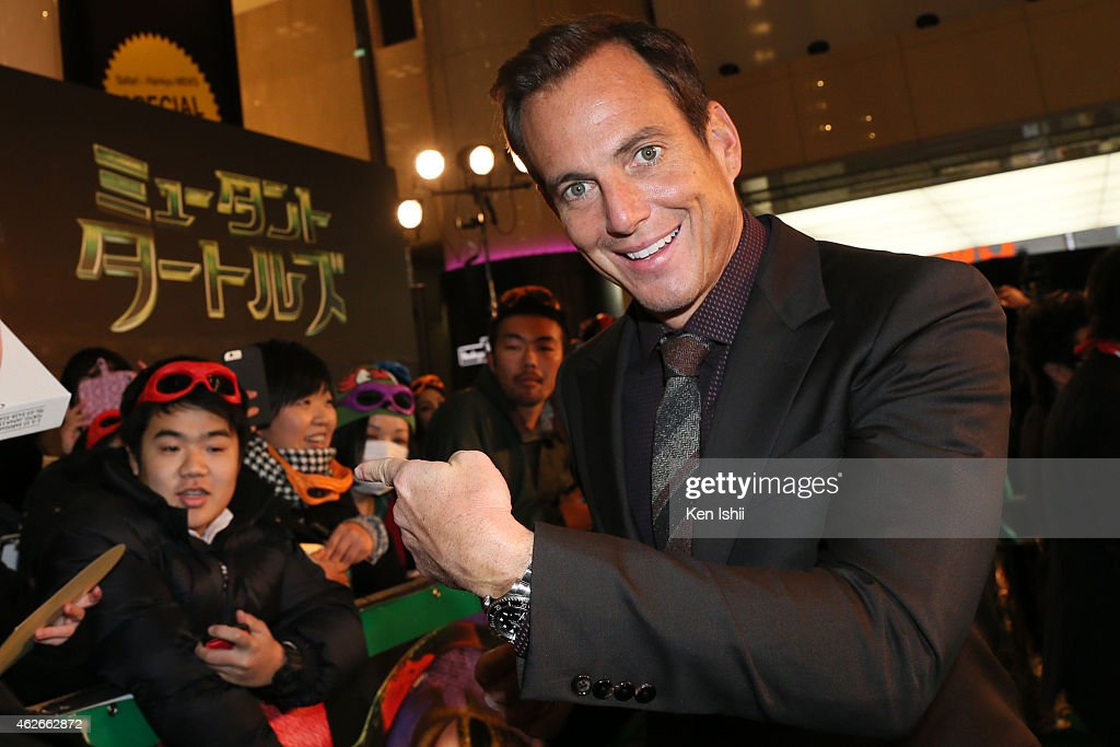 Teenage Mutant Ninja Turtles Tokyo Premiere : News Photo