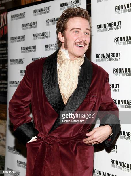 Actor Will Chase attends the 'The Mystery Of Edwin Drood' Broadway Opening Night at Roundabout Theatre Company's Studio 54 on November 13 2012 in New...