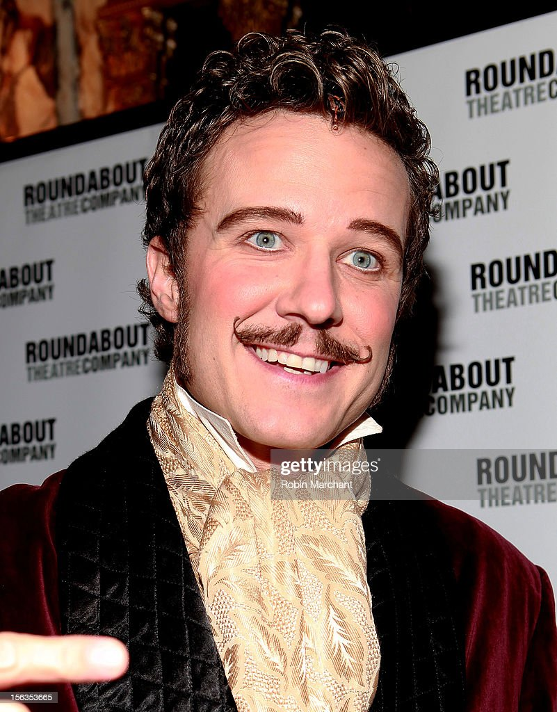 Actor Will Chase attends the 'The Mystery Of Edwin Drood' Broadway Opening Night at Roundabout Theatre Company's Studio 54 on November 13, 2012 in New York City.