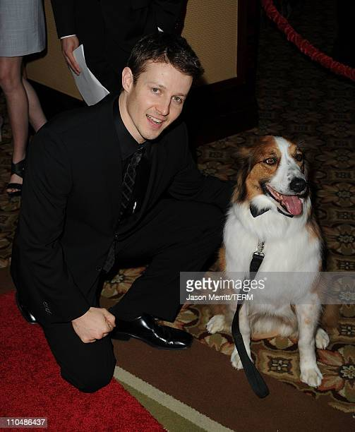 Actor Will Estes arrives at the 25th Anniversary Genesis Awards hosted by the Humane Society of the United States held at the Hyatt Regency Century...