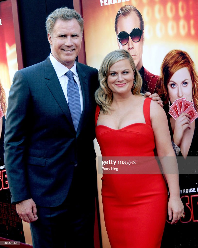 Actor Will Ferrell and actress Amy Poehler attend the Los Angeles Premiere of Warner Bros. Pictures' 'The House' at TCL Chinese Theatre on June 26, 2017 in Hollywood, California.