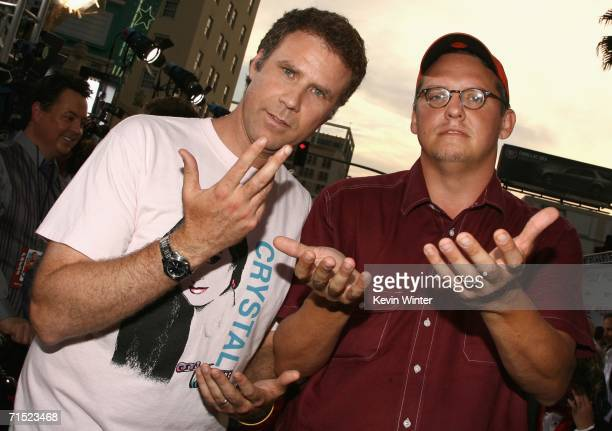 Actor Will Ferrell and drector Adam McKay arrive at the premiere of Talladega Nights The Ballad of Ricky Bobby at Mann's Grauman Chinese Theater on...
