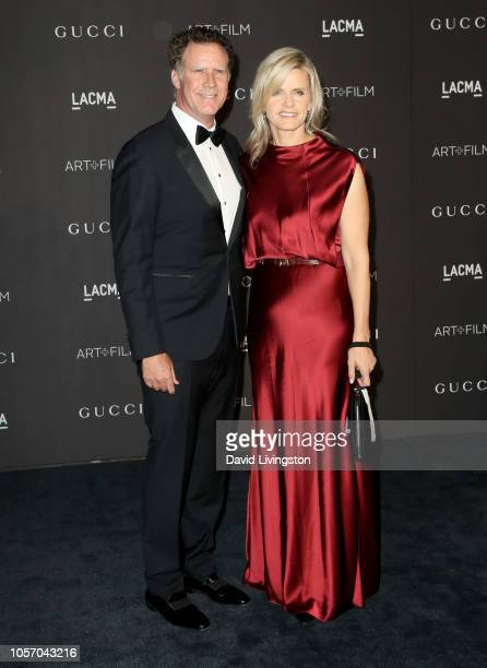 Actor Will Ferrell and LACMA trustee Viveca Paulin attend 2018 LACMA Art Film Gala honoring Catherine Opie and Guillermo del Toro presented by Gucci...