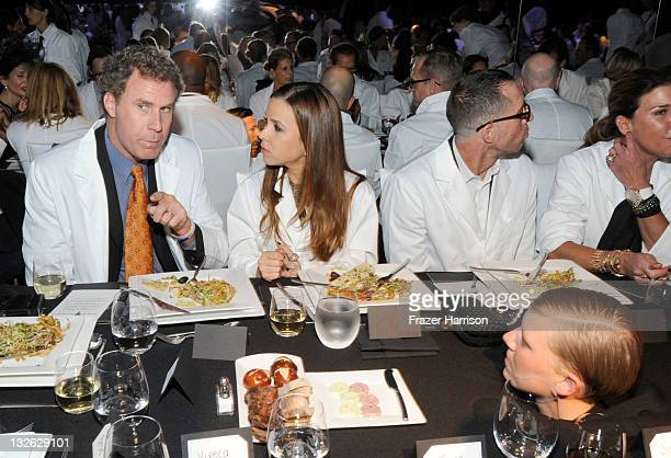 Actor Will Ferrell and wife Viveca Paulin attends 2011 MOCA Gala An Artist's Life Manifesto Directed by Marina Abramovic at MOCA Grand Avenue on...
