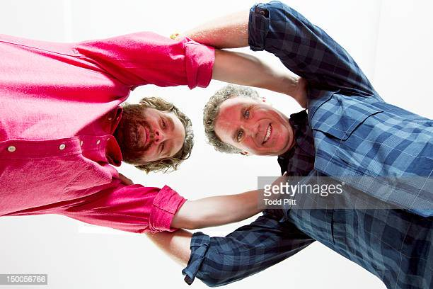 Actor Will Ferrell and Zach Galifianakis are photographed for USA Today on August 6 2012 in New York City PUBLISHED IMAGE