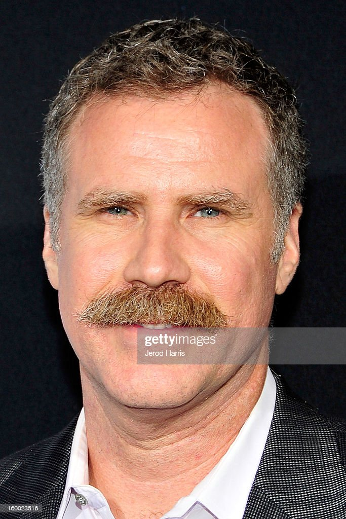 Actor Will Ferrell arrives at the Los Angeles Premiere of 'Hansel & Gretel: Witch Hunters' at TCL Chinese Theatre on January 24, 2013 in Hollywood, California.