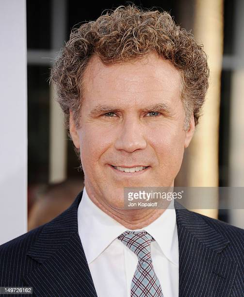 """Actor Will Ferrell arrives at the Los Angeles Premiere """"The Campaign"""" at Grauman's Chinese Theatre on August 2, 2012 in Hollywood, California."""