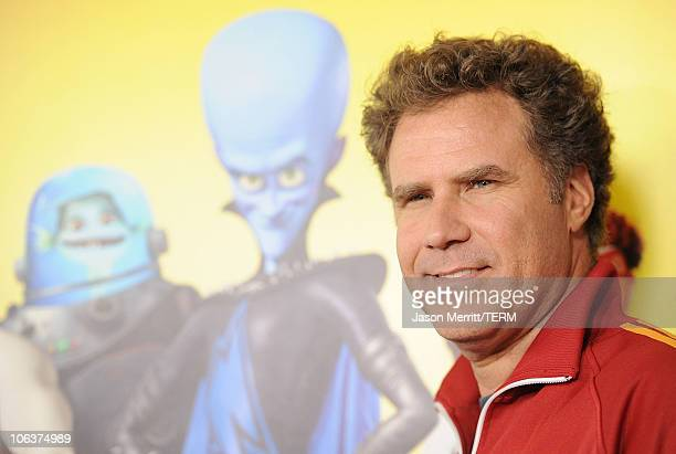 Actor Will Ferrell arrives at the 'Megamind' Los Angeles Premiere at Mann Chinese 6 on October 30 2010 in Los Angeles California