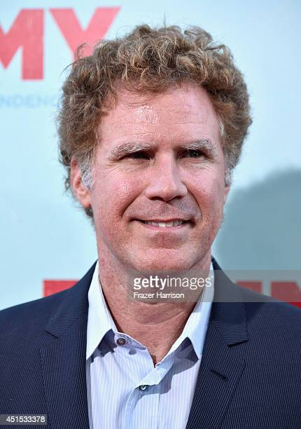 Actor Will Ferrell arrives at the Premiere of Warner Bros Pictures' 'Tammy' at TCL Chinese Theatre on June 30 2014 in Hollywood California