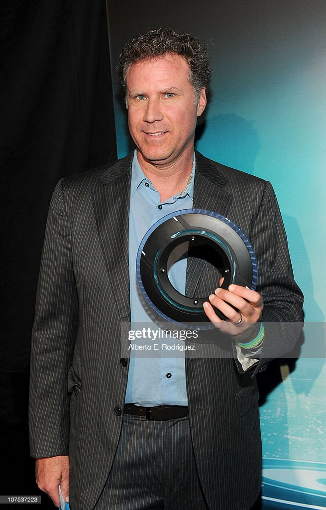 Actor Will Ferrell arrives at Walt Disney's 'TRON: Legacy' premiere held at the El Capitan Theatre on December 11, 2010 in Los Angeles, California.