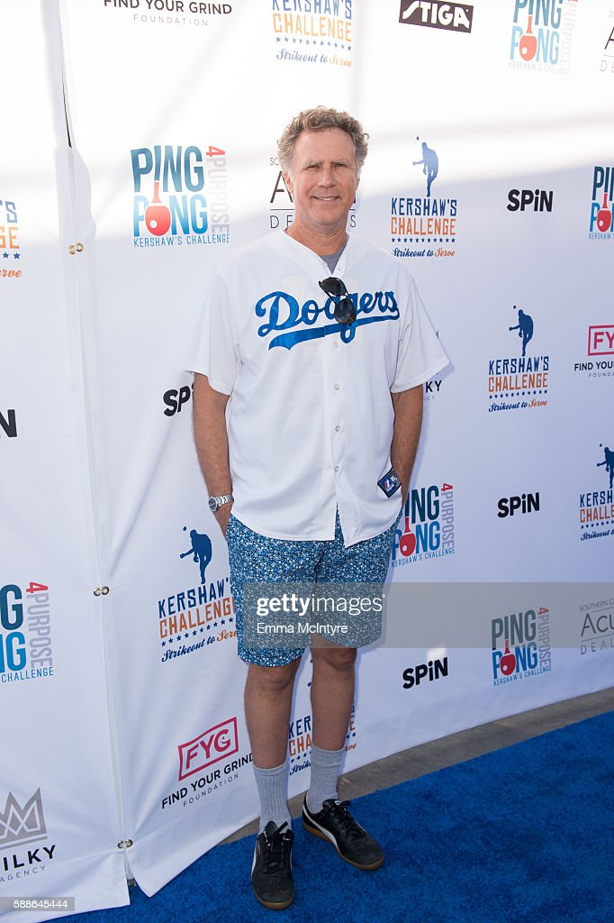 Clayton Kershaw's 4th Annual Ping Pong 4 Purpose Celebrity Tournament