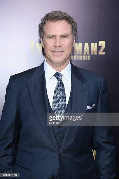 Actor Will Ferrell attends the Anchorman 2 The Legend Continues US premiere at Beacon Theatre on December 15 2013 in New York City