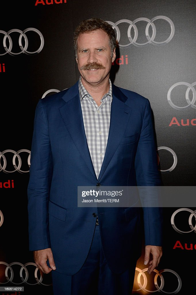 Actor Will Ferrell attends the Audi Forum New Orleans at the Ogden Museum of Southern Art on February 1, 2013 in New Orleans, Louisiana.