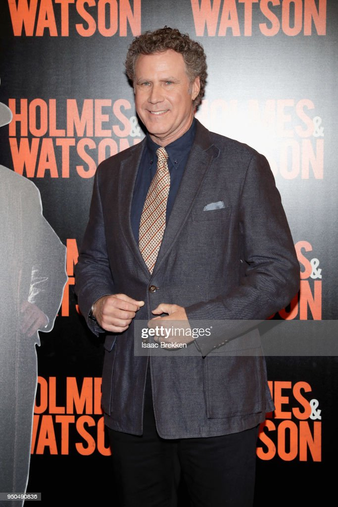Actor Will Ferrell attends the CinemaCon 2018 Gala Opening Night Event: Sony Pictures Highlights its 2018 Summer and Beyond Films at The Colosseum at Caesars Palace during CinemaCon, the official convention of the National Association of Theatre Owners, on April 23, 2018 in Las Vegas, Nevada.