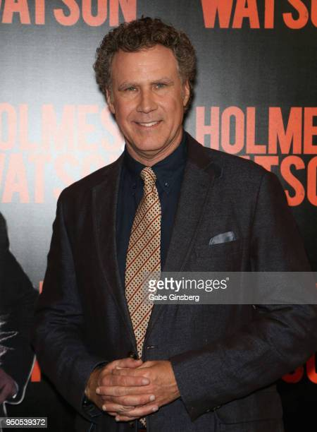 Actor Will Ferrell attends the CinemaCon 2018 Gala Opening Night Event Sony Pictures Highlights its 2018 Summer and Beyond Films at The Colosseum at...