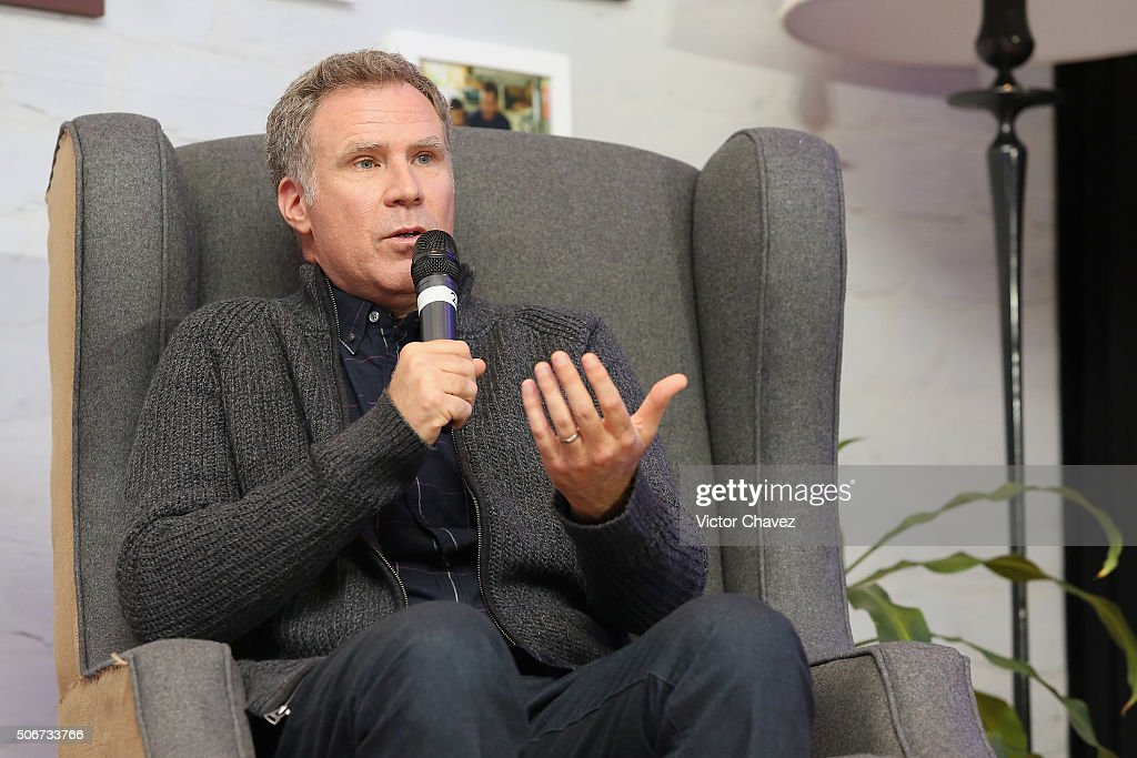 Actor Will Ferrell attends the 'Daddy's Home' press conference at St Regis Hotel on January 25, 2016 in Mexico City, Mexico.