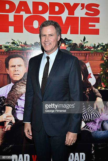 Actor Will Ferrell attends the 'Daddy's Home' red carpet premiere at Scotiabank Theatre on December 14 2015 in Toronto Canada