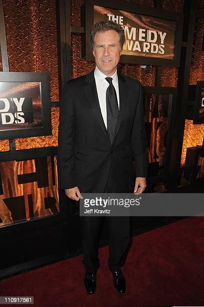 Actor Will Ferrell attends the First Annual Comedy Awards at Hammerstein Ballroom on March 26, 2011 in New York City.