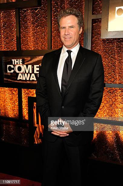 Actor Will Ferrell attends The First Annual Comedy Awards at Hammerstein Ballroom on March 26 2011 in New York City