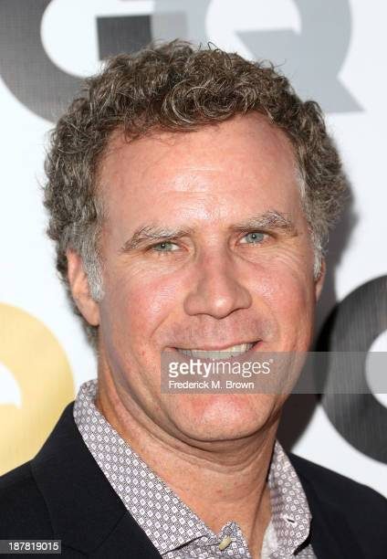 Actor Will Ferrell attends the GQ Men Of The Year Party at The Ebell Club of Los Angeles on November 12 2013 in Los Angeles California
