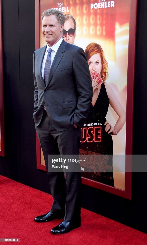 Actor Will Ferrell attends the Los Angeles Premiere of Warner Bros. Pictures' 'The House' at TCL Chinese Theatre on June 26, 2017 in Hollywood, California.