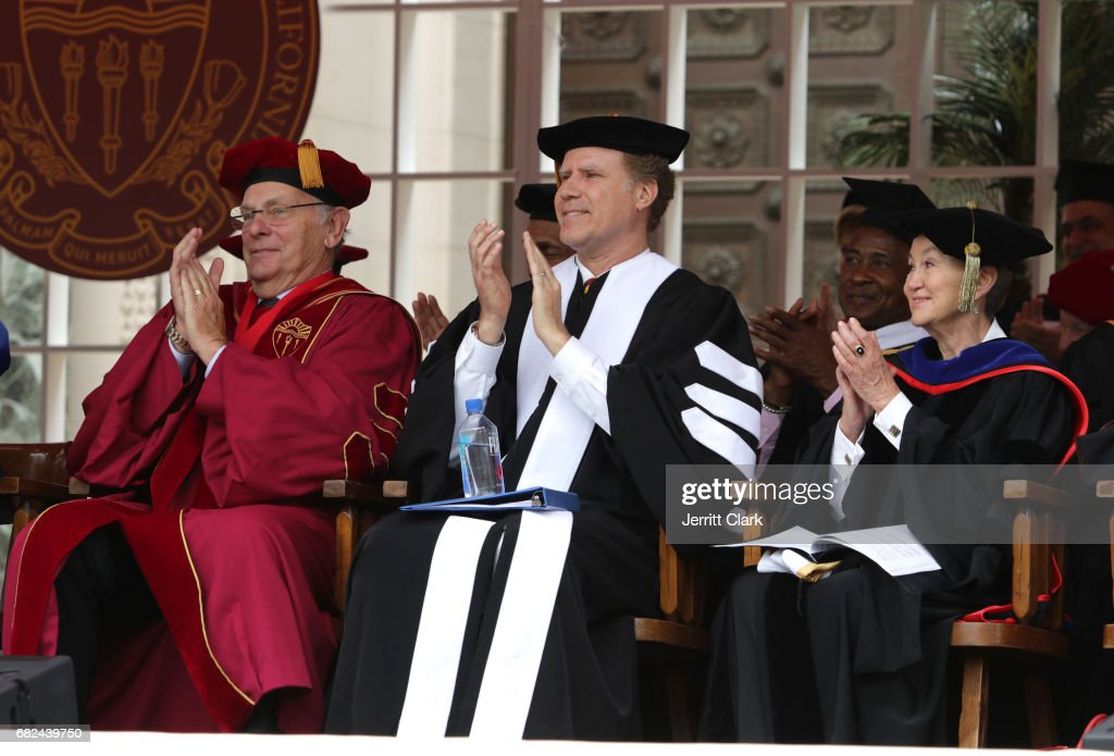 Actor Will Ferrell attends the University Of Southern California 134th Commencement Ceremonies at The Shrine Auditorium on May 12, 2017 in Los Angeles, California.