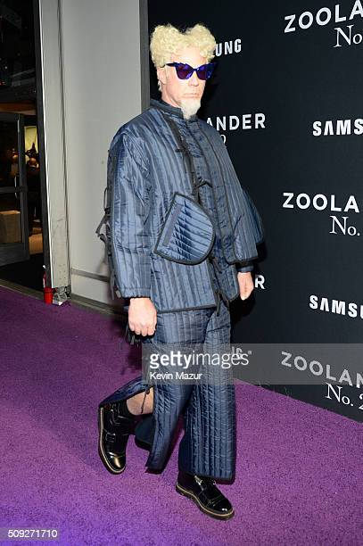Actor Will Ferrell attends the 'Zoolander 2' World Premiere at Alice Tully Hall on February 9 2016 in New York City