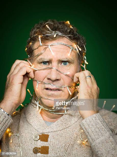 Actor Will Ferrell is photographed for the Observer on December 8 2015 in London England