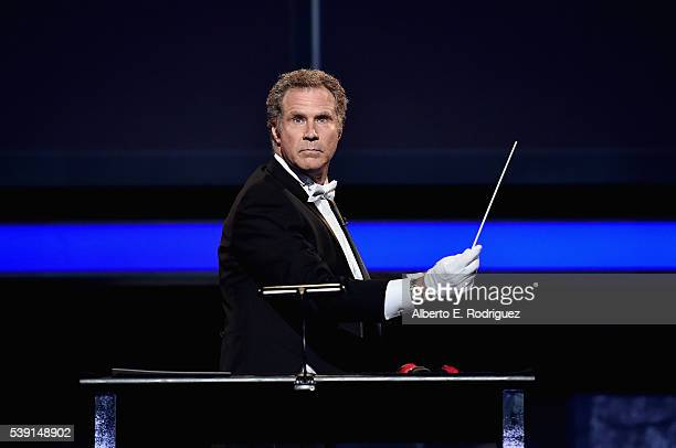 Actor Will Ferrell performs onstage during American Film Institute's 44th Life Achievement Award Gala Tribute show to John Williams at Dolby Theatre...