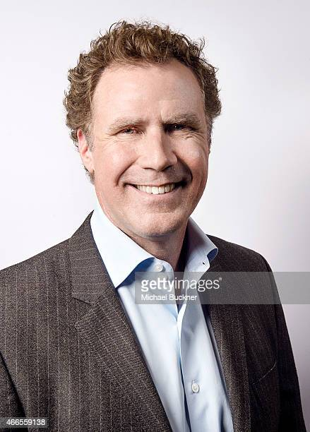 Actor Will Ferrell poses for a portrait for the film 'Get Hard' during the 2015 SXSW Music Film Interactive Festival on March 16 2015 in Austin Texas
