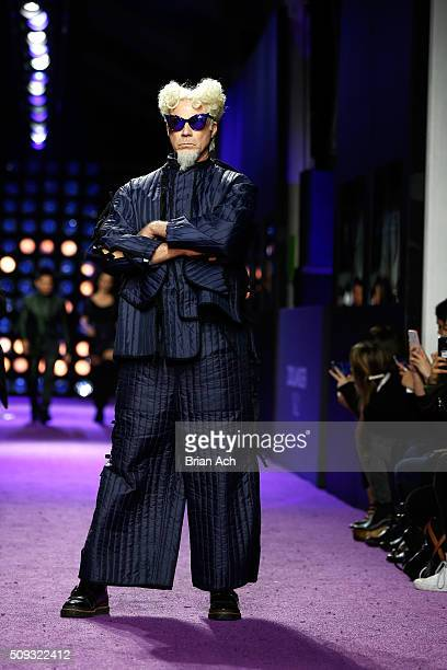 Actor Will Ferrell walks the runway during the 'Zoolander No 2' World Premiere at Alice Tully Hall on February 9 2016 in New York City