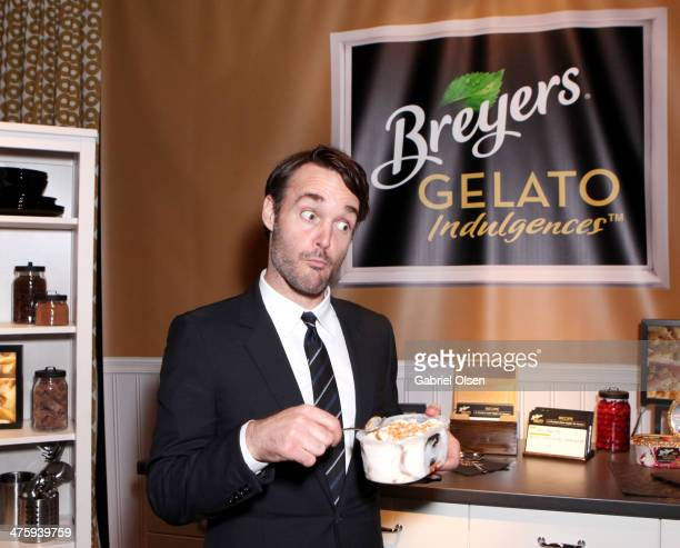 Actor Will Forte attends Breyers Gelato Indulgences in the On3 Official Presenter Gift Lounge during the 2014 Film Independent Spirit Awards at Santa...