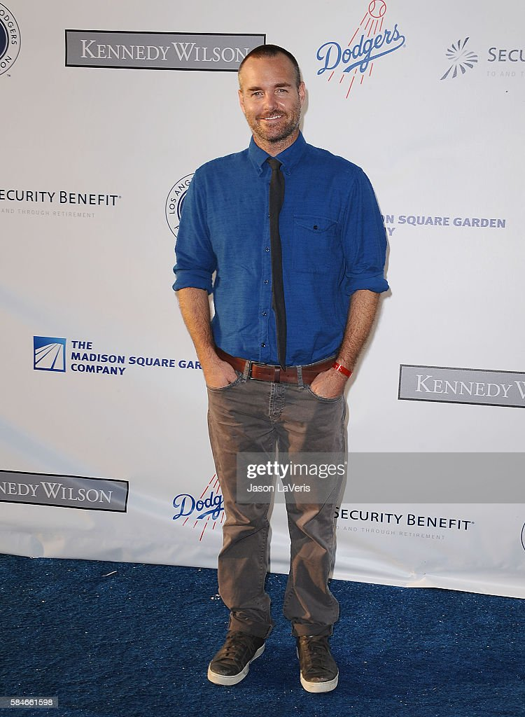 Actor Will Forte attends the Los Angeles Dodgers Foundation Blue Diamond gala at Dodger Stadium on July 28, 2016 in Los Angeles, California.