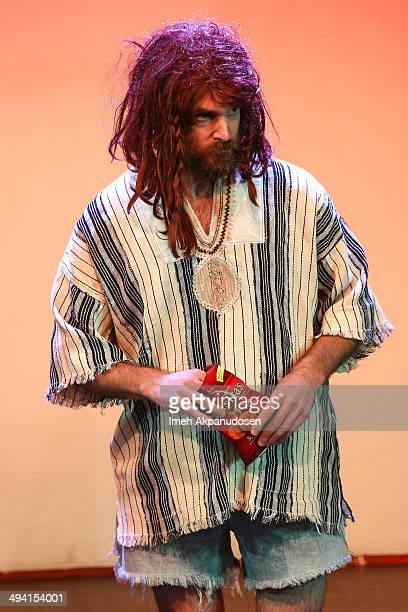 Actor Will Forte performs onstage at The Groundlings Theatre's celebration of their 40th Anniversary with '2000's Decade Night' at The Groundlings...