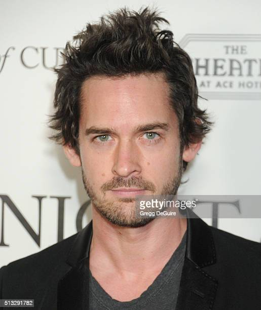Actor Will Kemp arrives at the premiere of Broad Green Pictures' 'Knight Of Cups' on March 1 2016 in Los Angeles California
